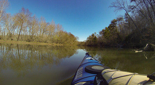 Saluda Lake Paddling-39