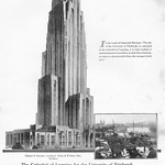 Thu, 2016-04-28 09:51 - The monumental Cathedral of Learning at the University of Pittsburgh was designed by architect Charles Z. Klauder with Stone & Webster serving as the builders.  In the words of Chancellor Bowman, 'the aim of the University of Pittsburgh, as expressed in the Cathedral of Learning, is to train students to see the elements of a problem, to unify those elements, to come to a decision to have the courage to stick to it.'  The Cathedral of Learning is a 42-story Late Gothic Revival building and the tallest educational building in the Western Hemisphere.  The building was listed in the National Register of Historic Places in November 1975.  Located at 4200 Fifth Avenue, Pittsburgh, PA 15260. Please do not use this image in any media without my permission. © All rights reserved.