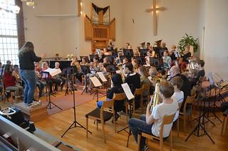 Framåt Brass 2016 - dirigent Inka Glänneskog