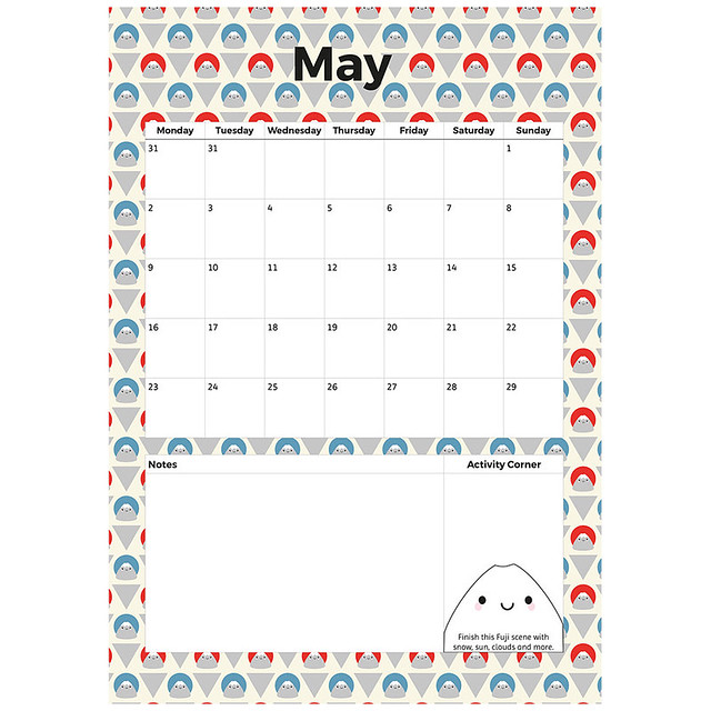 May Printable Planner