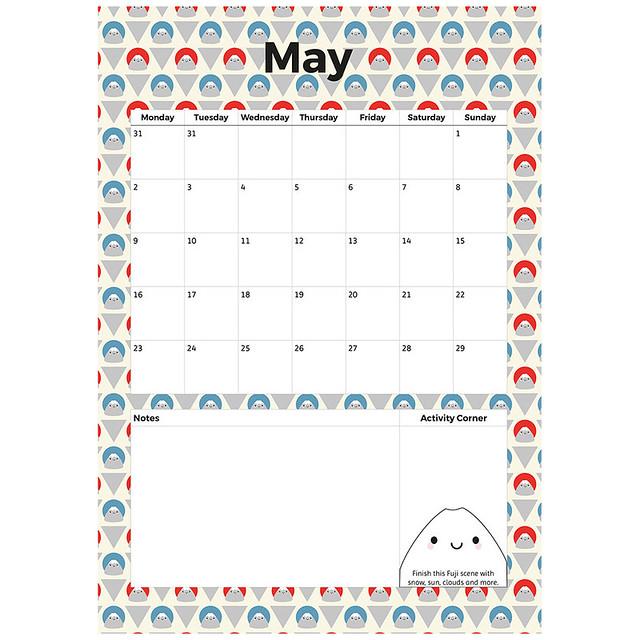 May Printable Planner