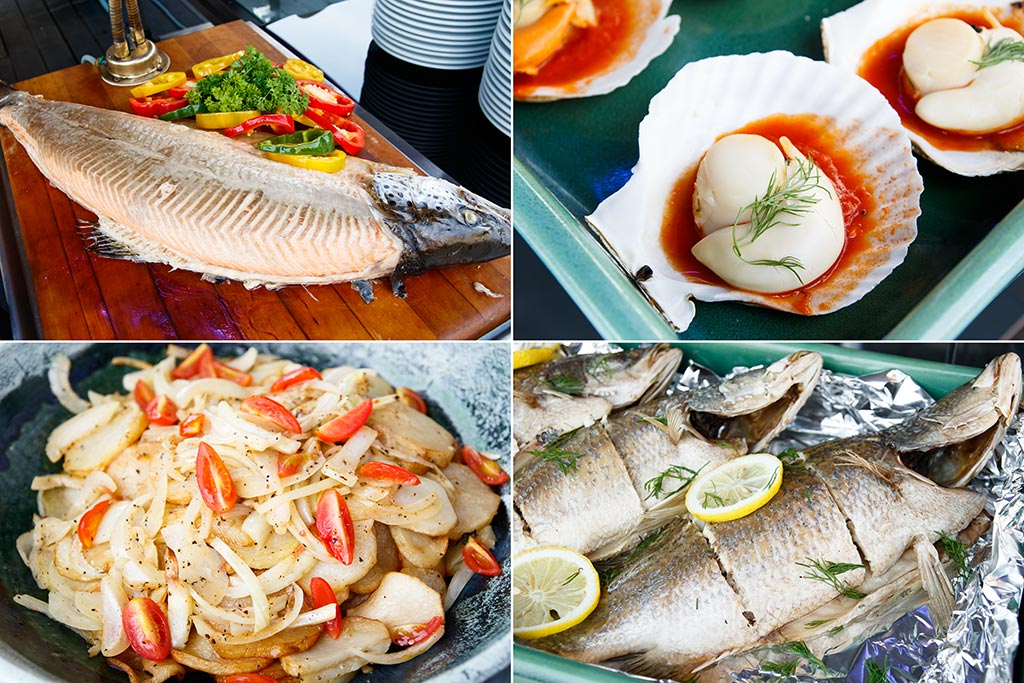 Pullman Putrajaya Lakeside Epic Brunch Buffet seafood on ice