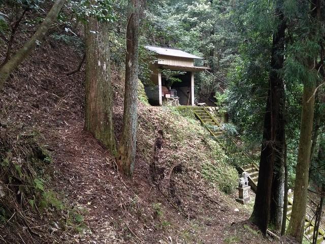 天狗ヶ城 市井ルート 貴船神社への道