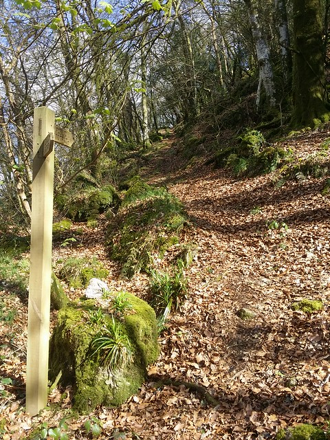 Path up to Great Rock