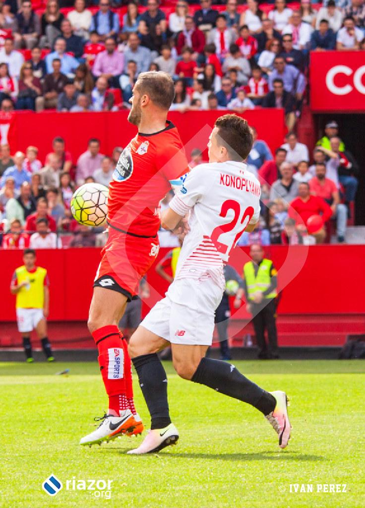 Liga BBVA. Jornada 33ª. Sevilla 1 - Deportivo 1