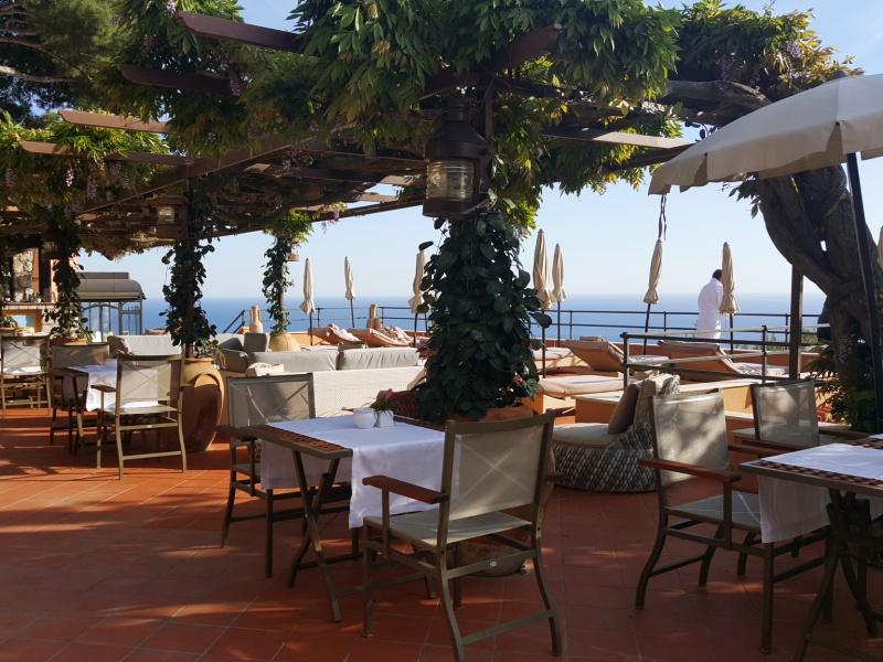 Punta Tragara Hotel Pool Bar