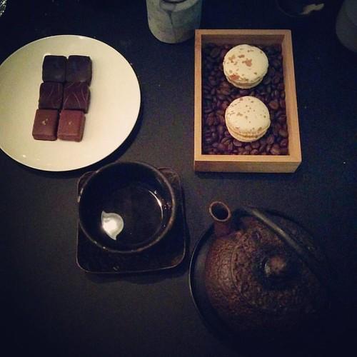 Geweldig gezellige avond gehad met een superlekkere menu 💑 #oprestaurant #uiteten #teteatete #justthetwoofus
