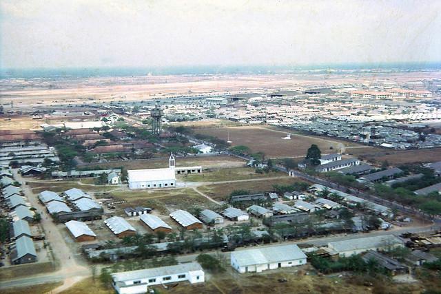 Tan Son Nhut Air Base - VNAF Chapel - Trại Hoàng Hoa Thám của Sư đoàn Dù