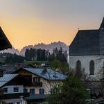 Twilight in Kitzbuhel