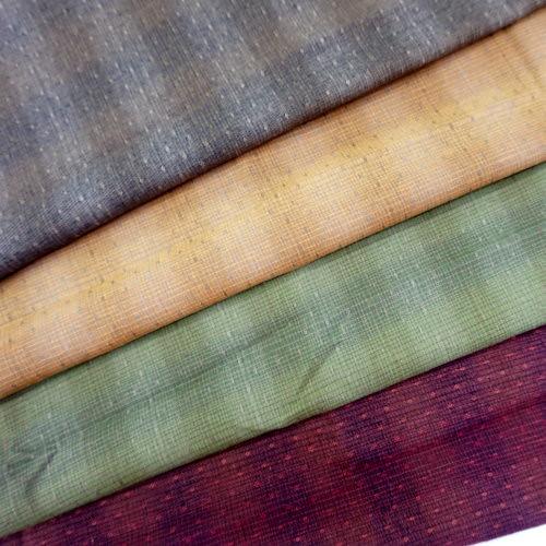 CA1600005 點繡線先染布 滾邊配布 手工藝DIy拼布布料 3尺8(日本)