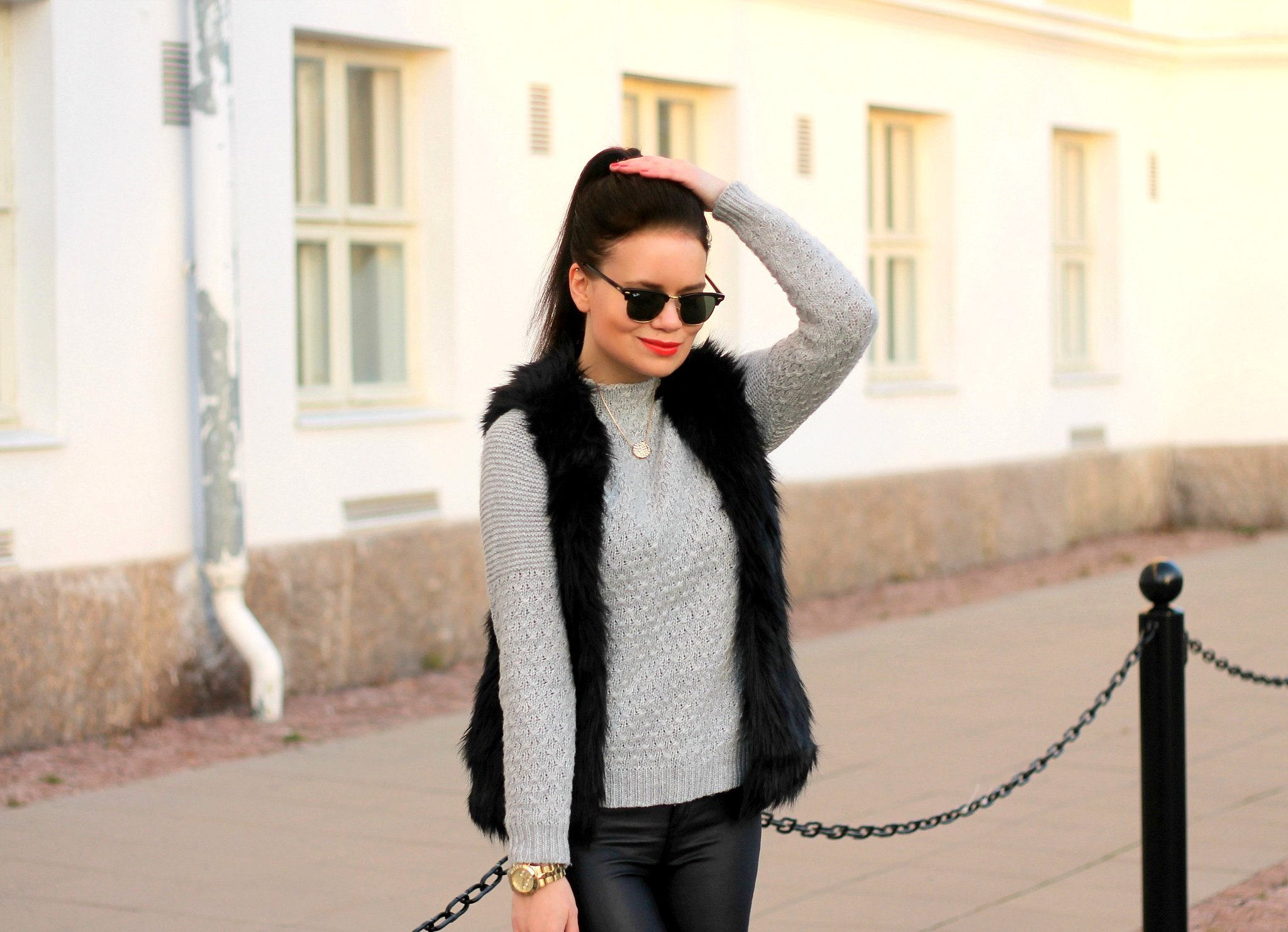 rayban outfit11