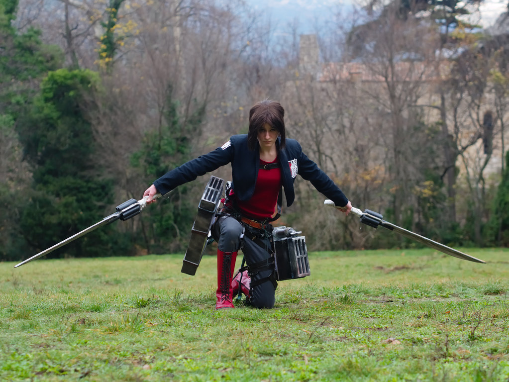 related image - Shooting Shingeki no Kyojin - Parc de Saint Pons - Gemenos - 2015-12-19- P1260243