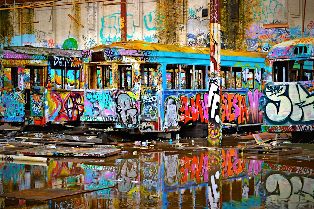 Abandoned Tram Depot