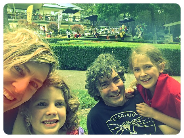 Family. Zoe turns EIGHT!
