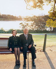 40 Portraits: Sir Nicholas Shehadie (AC OBE) & Professor The Honourable Dame Marie Bashir (AD CVO)