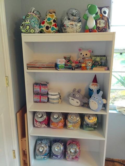 Corgi cottage sewing studio