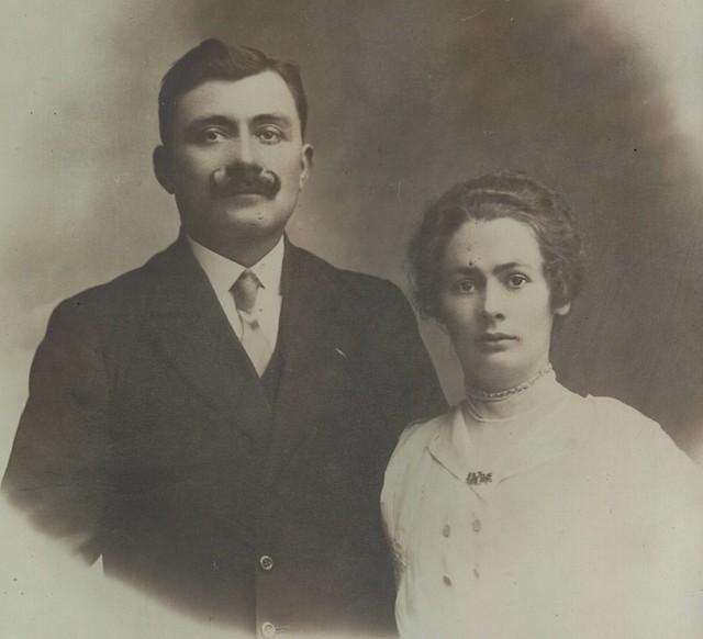 Photo de mariage, 1919