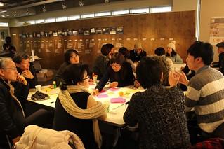 참여연대100인원탁토론중구난방 진행모습