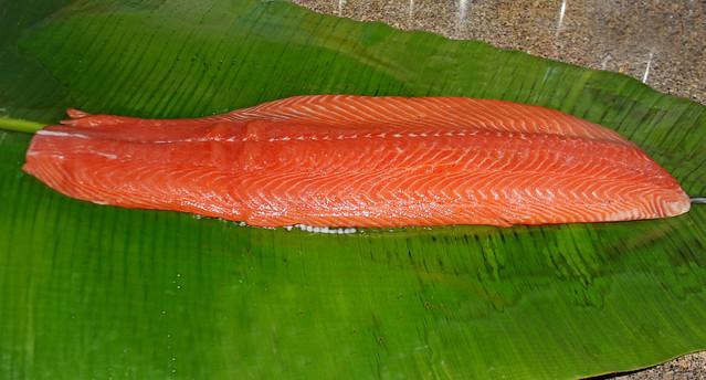 Salmon a la hoja de bananero (12)