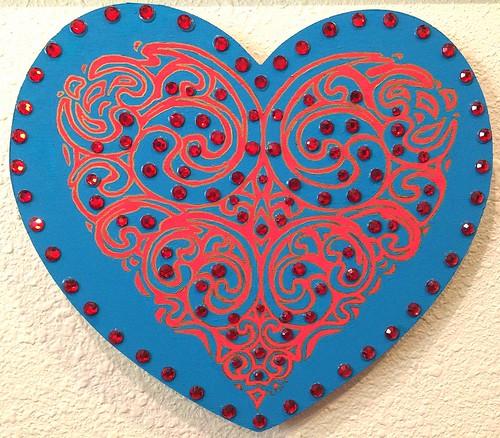 blue heart 1