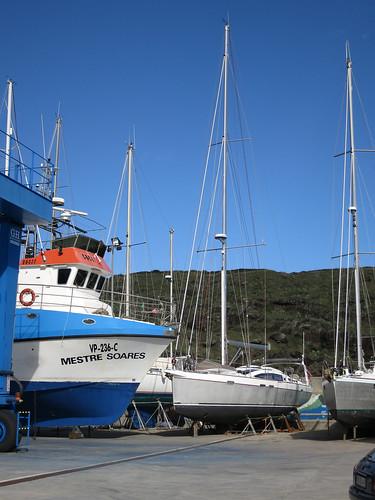 Werft bei Vila do Porto