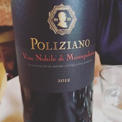 Iniziamo la degustazione #visioni #nobile #montepulciano #vine #vino