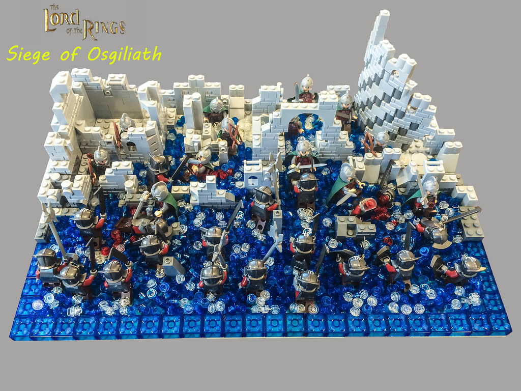 Lord Of The Rings Fall Of Osgiliath I Lacked The Gondoro Flickr