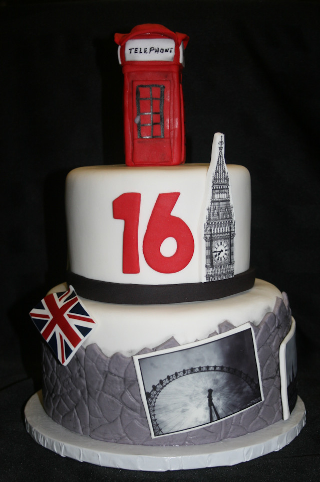 Stupendous London 16Th Birthday Cake Alicia Bryson Flickr Personalised Birthday Cards Vishlily Jamesorg
