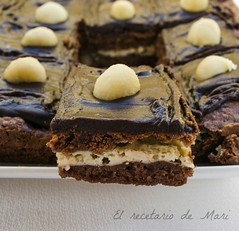 Brownie de chocolate y queso 2