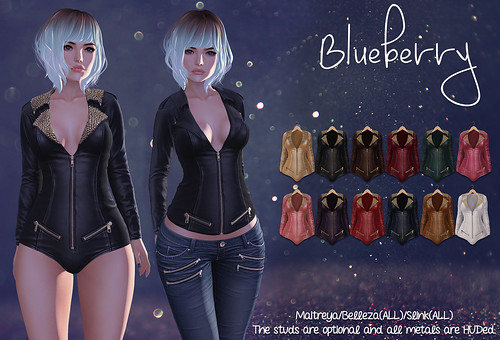 Blueberry Lida Bodysuits & Jackets