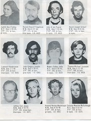 Weather Underground wanted by the FBI # 2: 1972 ca.