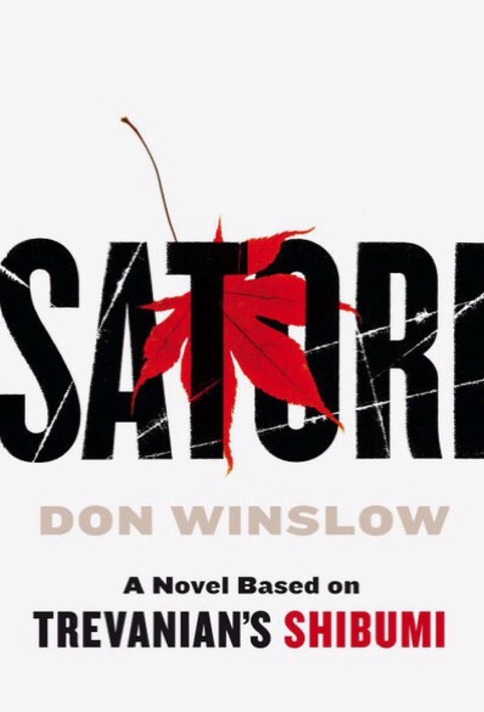 ... Front cover of 'Satori' by Don Winslow - by antefixus21
