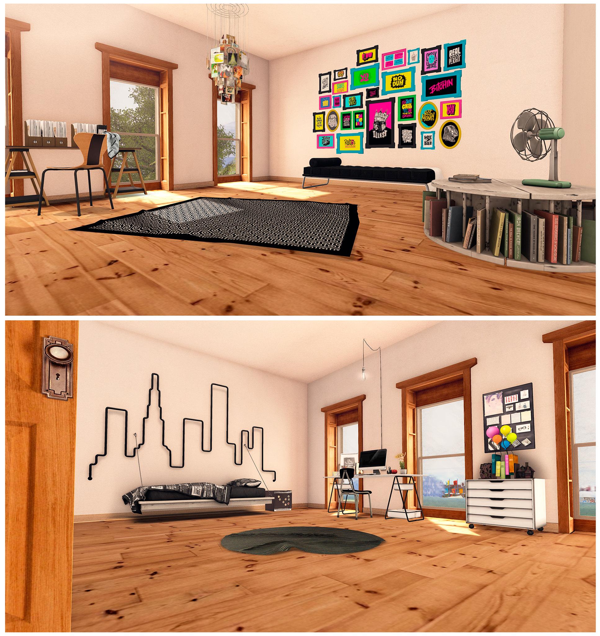 Schultz Bros_Roosevelt Skybox Bedrooms