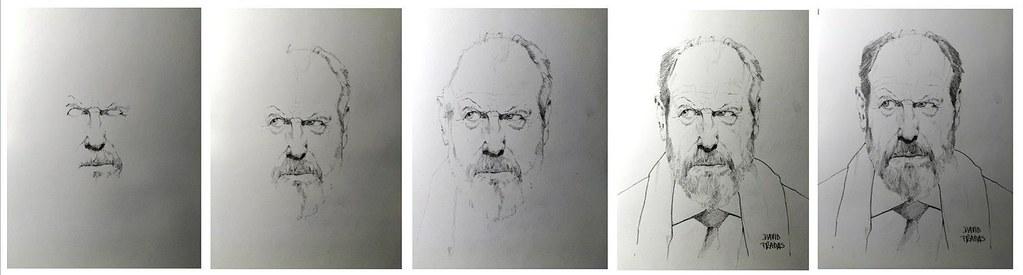 proces retrat Josep M Pou