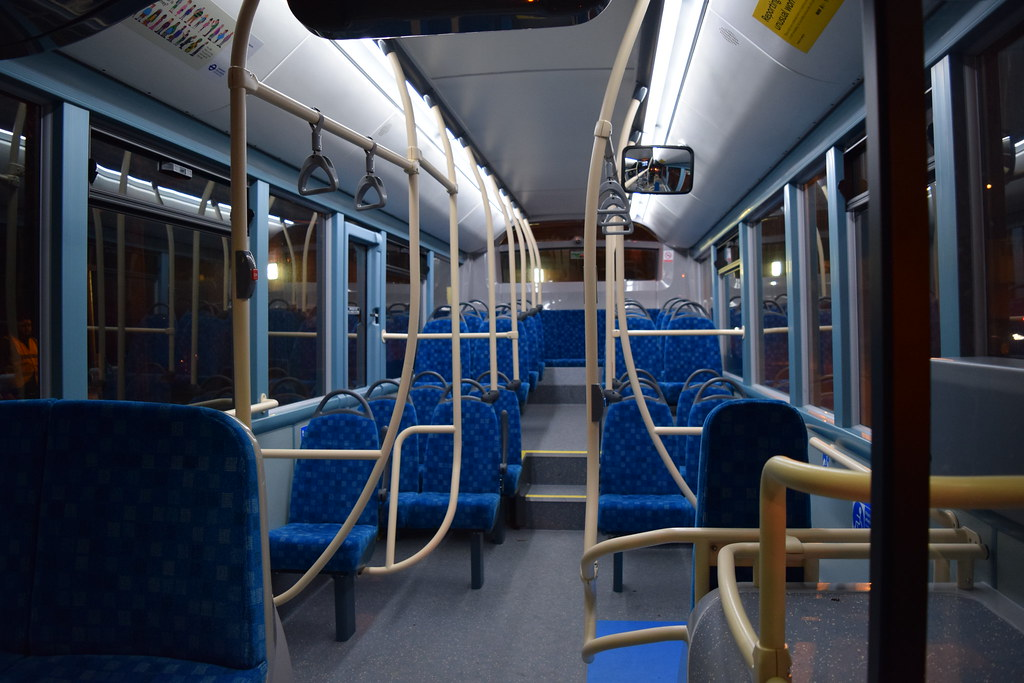 Interior of Arriva Southern Counties ENR1 on Route B13