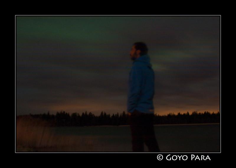 A ver si acaba despejando y se deja ver la Aurora Boreal