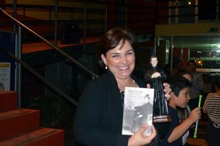 Se regalaron varias imágenes de Don Bosco