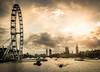 Westminster, London - Break in the clouds