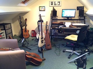 Govannen recording Celtic Air album - after...