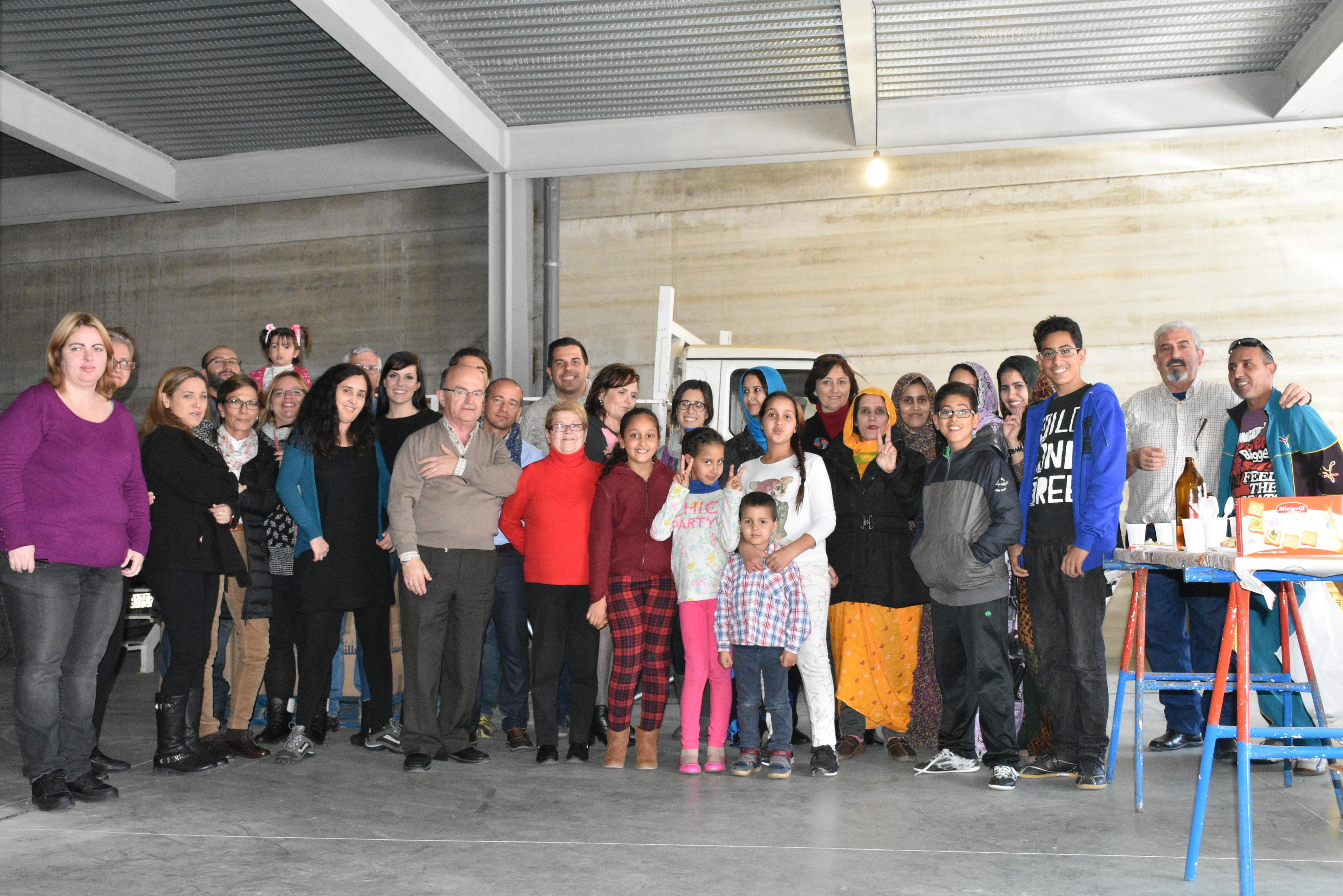 Caravana por la Paz se cierra con la recogida de 11.000 kilos de alimentos