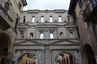 Image of  Porta Borsari. italy verona portadeiborsari