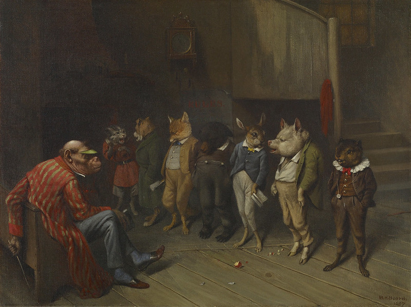 William Holbrook Beard - School Rules, 1887