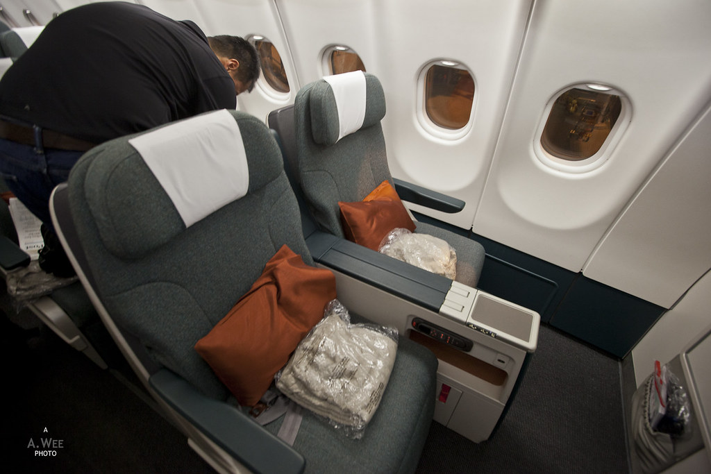 Regional Business Class seats