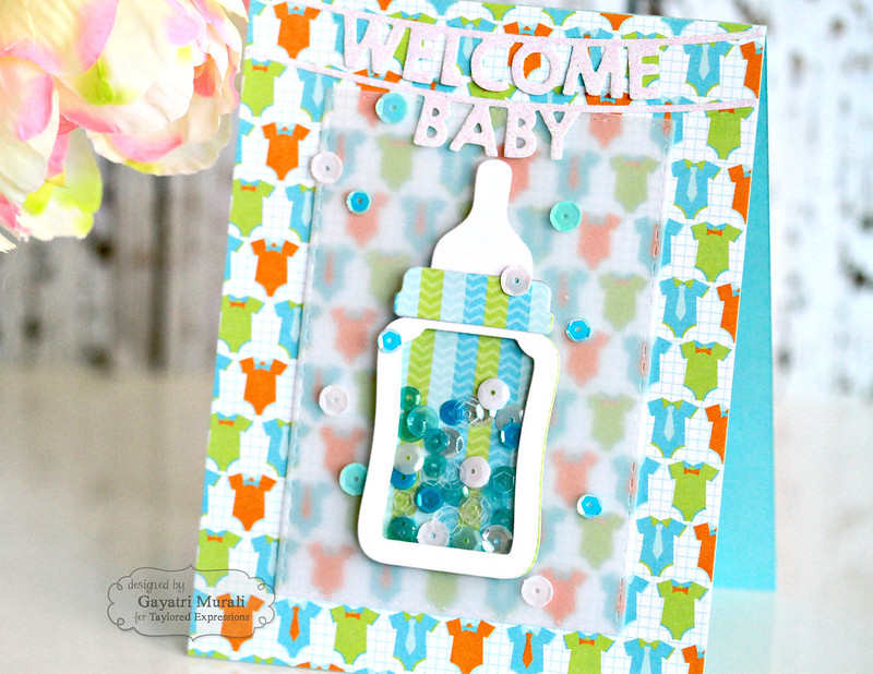 Welcome Baby Boy's card closeup #1