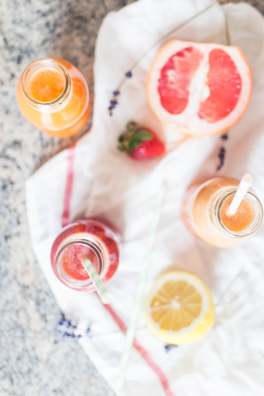 Three Healthy Juices Recipes