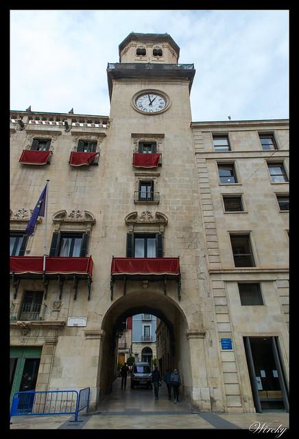Torre del pórtico del reloj