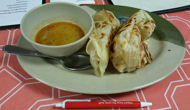 2016-Mar-10 Angie's Malaysian Eatery - Roti Canai (2 pieces)