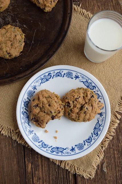 Zuchinni Chocolate Chip Cookie