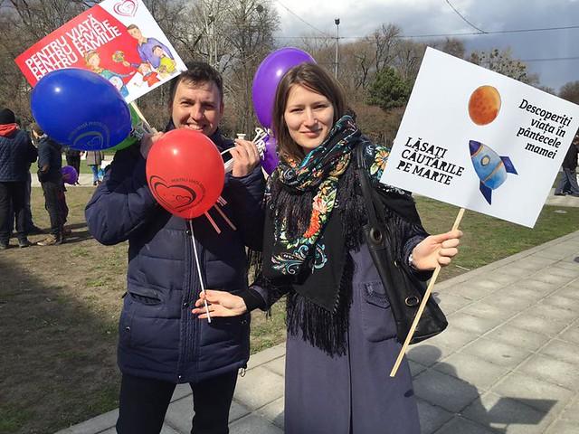 Marșul pentru viață 2016 Chișinău