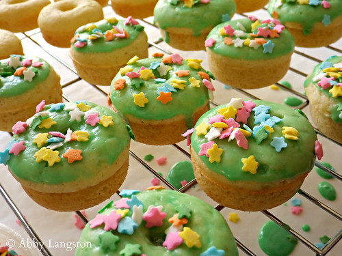 Mini St. Patrick's Day Donuts